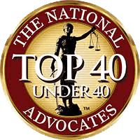 The National Advocates - Top 40 Under 40 awarded to Gretchen Z. Boger.
