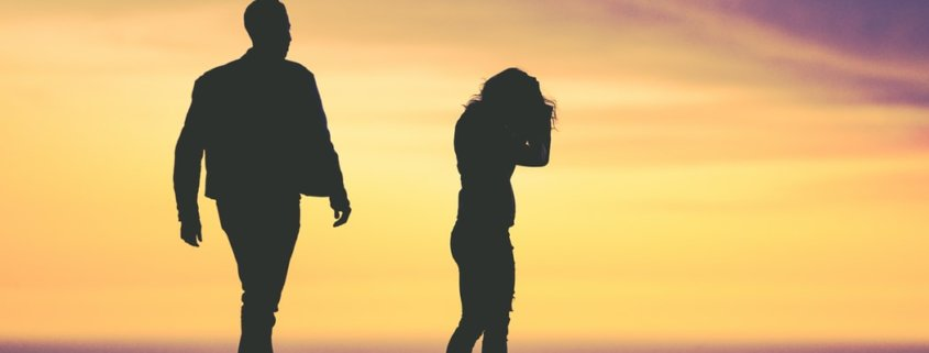 A couple fights over legal separation and divorce